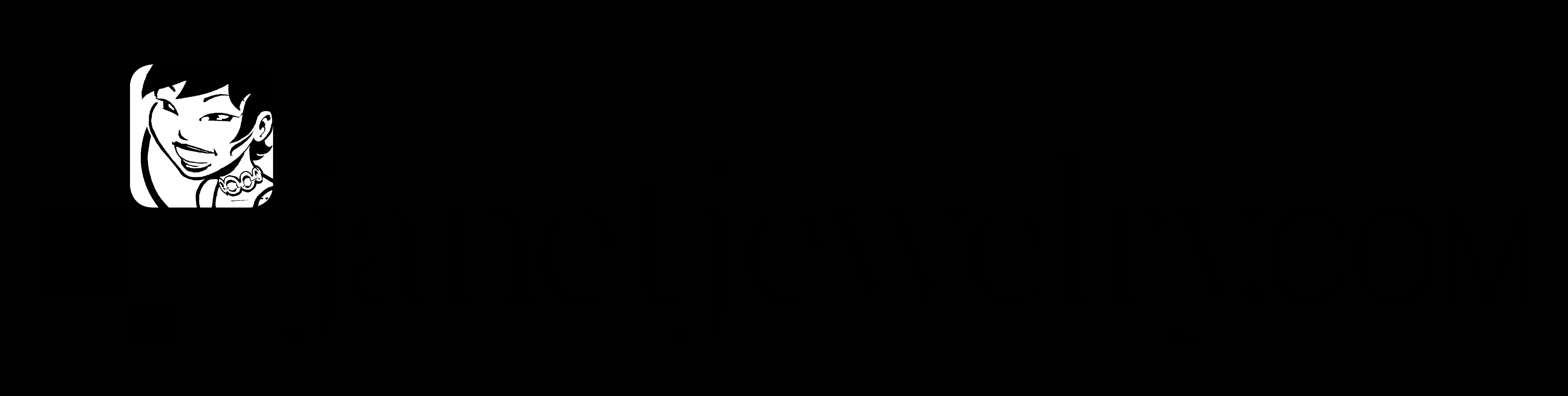 JanetJewelry Logo Black