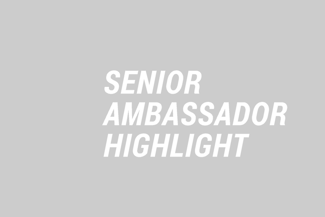 Senior Ambassador Highlight WS
