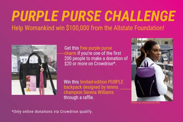 2018 Purple Purse Website